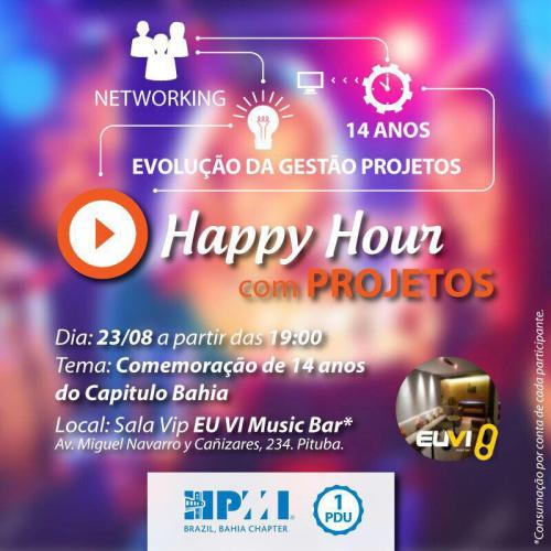 Happy Hour com Projetos - Participe!