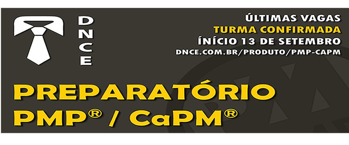 Curso Preparatório para Certificação PMP®/CAPM®