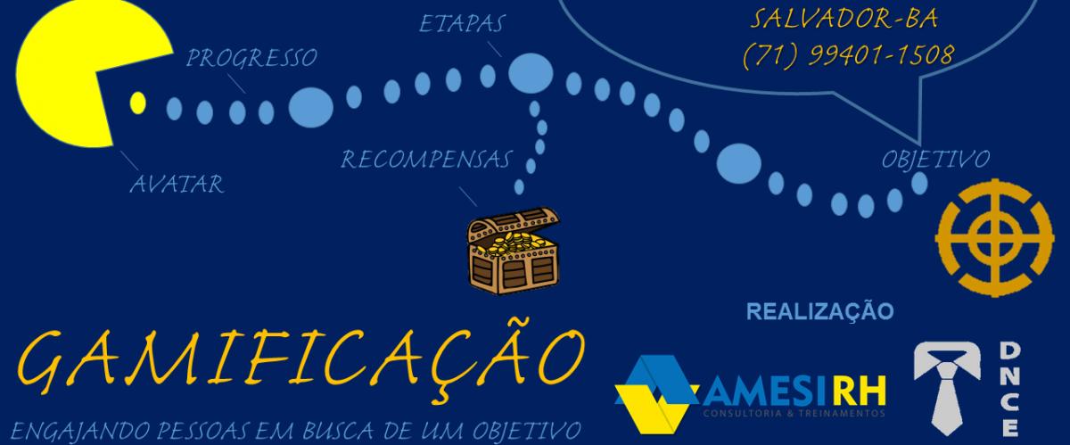 Curso de Gamificação  com benefício para o afiliado PMI Bahia Chapter
