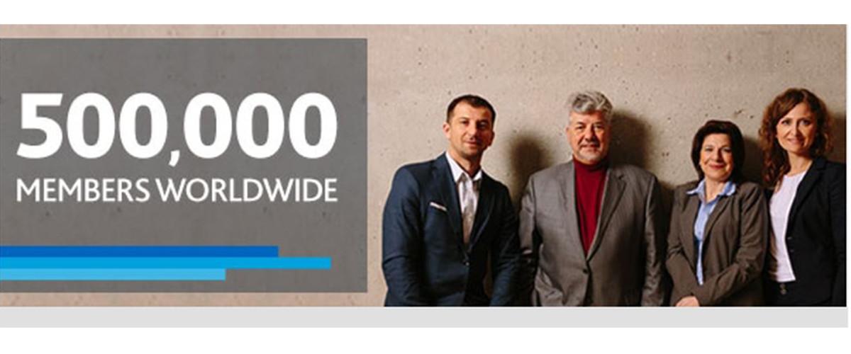 PMI tem agora 500 mil membros em todo o mundo