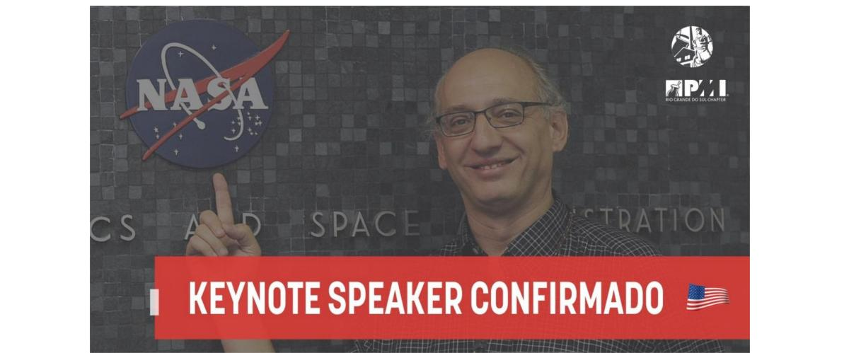 13º CBGPL PMI | Keynote Miguel Alejandro San Martin, o engenheiro-chefe da NASA