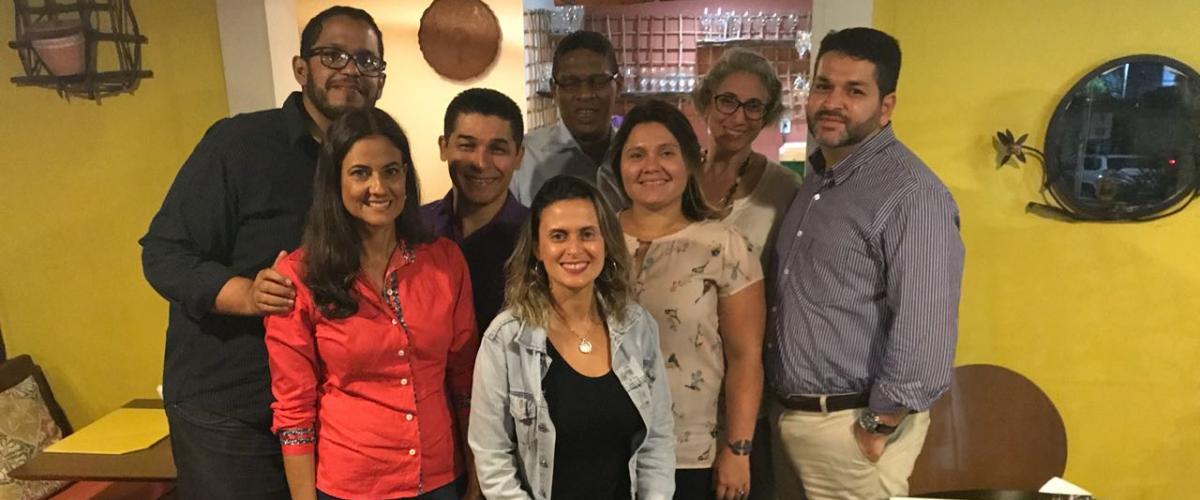 Diretoria do PMI Bahia se reúne com representantes do PMI Global