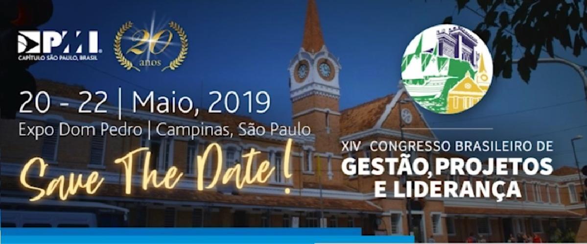 SAVE THE DATE - XIV CBGPL em Campinas!