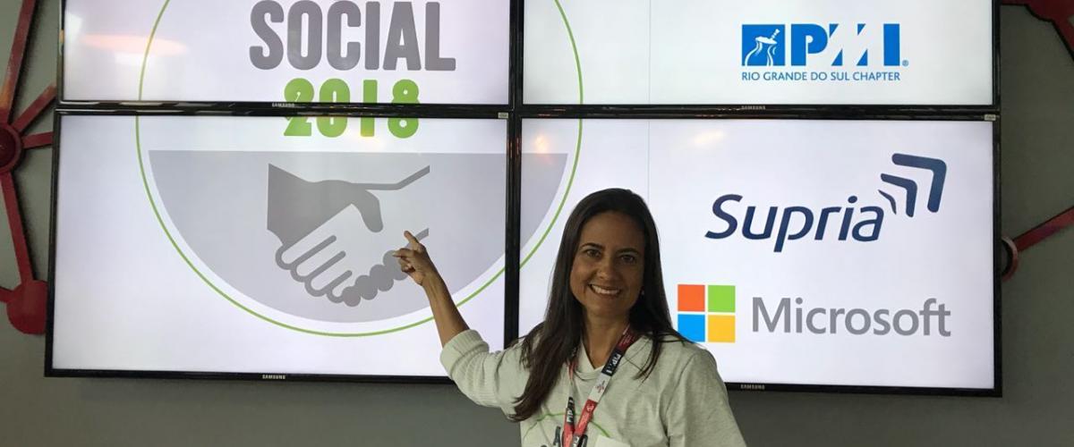 Ação Social e Compartilhando Experiências no CBGPL 2018