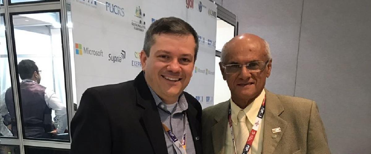 Fundador do PMI Bahia no CBGPL 2018!