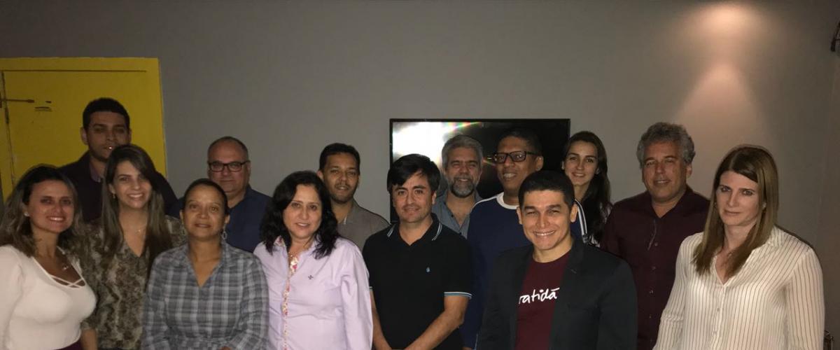 Agradecemos sua participação no Happy Hour com Projetos e desejo de colaborar com PMI Bahia Chapter