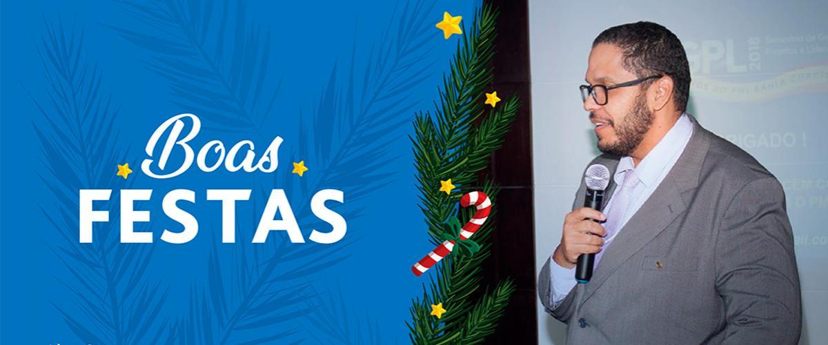 Mensagem de Agradecimento de Alan Santos, Presidente do PMI Bahia Chpater
