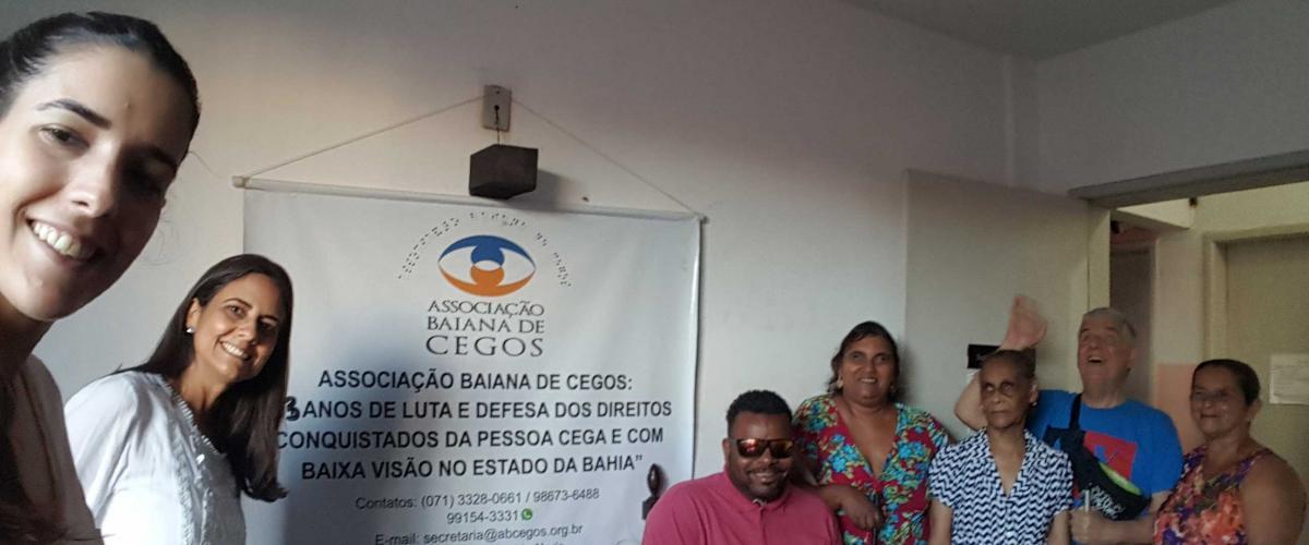PMI Bahia visita a ONG Associação Baiana de Cegos (ABC)
