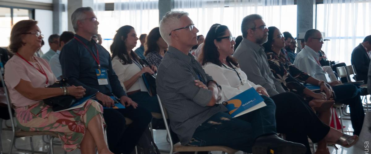 Fotos SGPL 2019 - Credenciamento; Cerimônia de Abertura e PALESTRAS