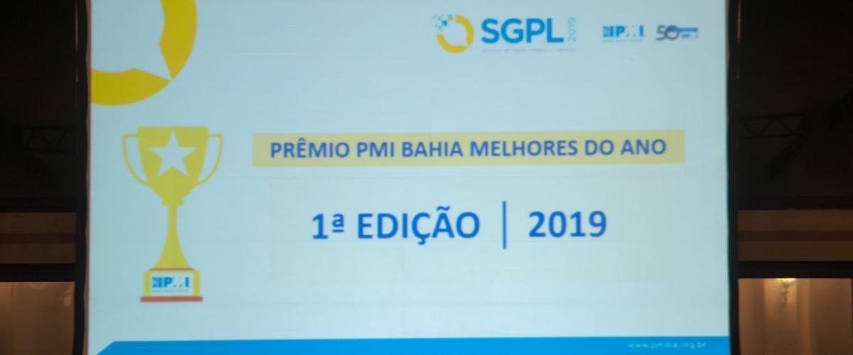 Fotos SGPL 2019 - PRÊMIO PMI BAHIA Melhores do Ano - PMO e Projeto