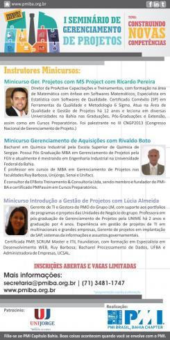 CONHEÇA OS PALESTRANTES DO SGP 2014