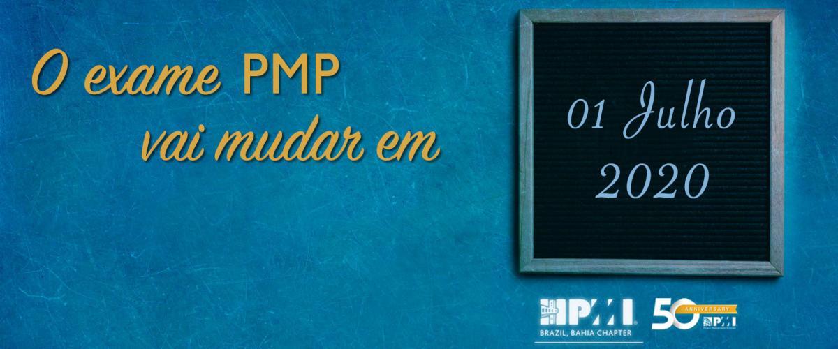 Mudança no exame PMP ficará para julho de 2020