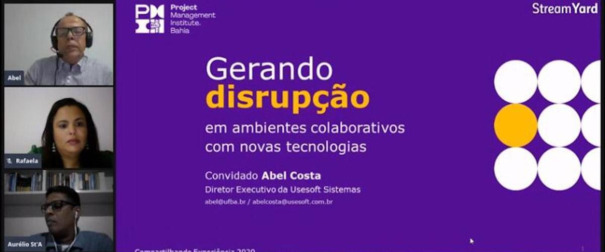 Compartilhando Experiência - Gerando disrupção em ambientes colaborativos com novas tecnologias