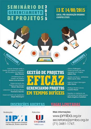SGP 2015 - Gestão Eficaz de Projetos em Tempos Difíceis