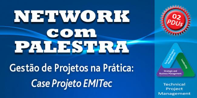 1º evento do ano: Network com Palestra