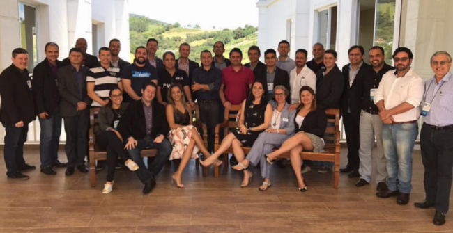 PMI Region Meeting - PMI Bahia Chapter presente