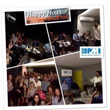 1º Happy Hour realizado em 2017 pelo PMI Bahia foi um sucesso!